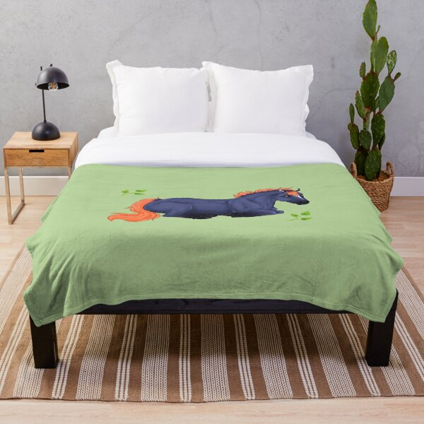 Embermane Throw Blanket