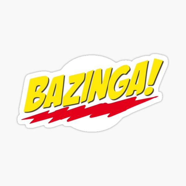 Bazinga  Sticker