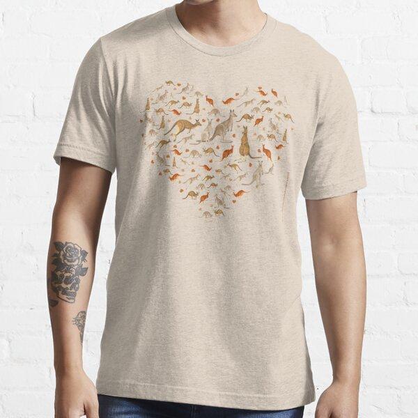 Kangaroo Heart Essential T-Shirt