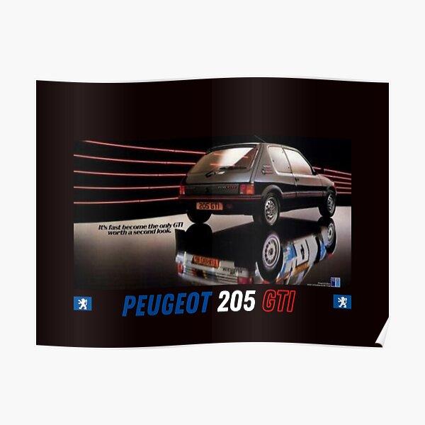 Peugeot 205 GTI Poster