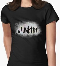 The Endless Silhouettes - Colorful Cosmos Women's Fitted T-Shirt