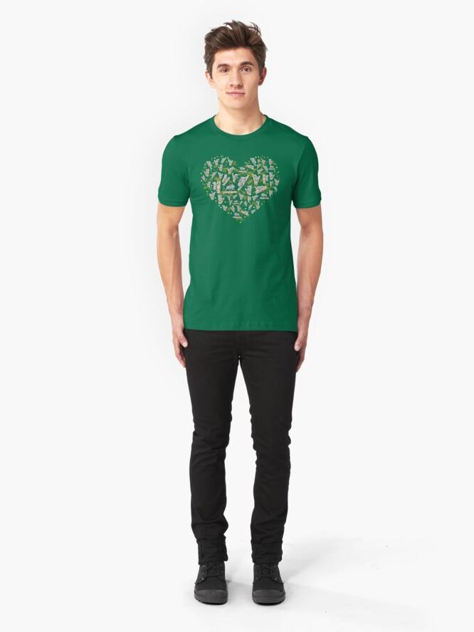 Alternate view of Koala Heart Slim Fit T-Shirt