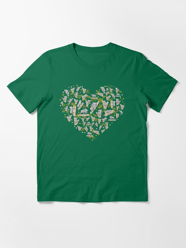 Alternate view of Koala Heart Essential T-Shirt