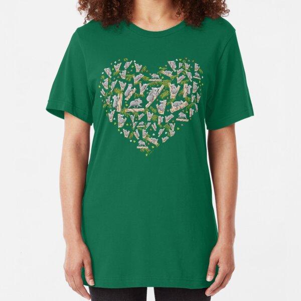Koala Heart Slim Fit T-Shirt