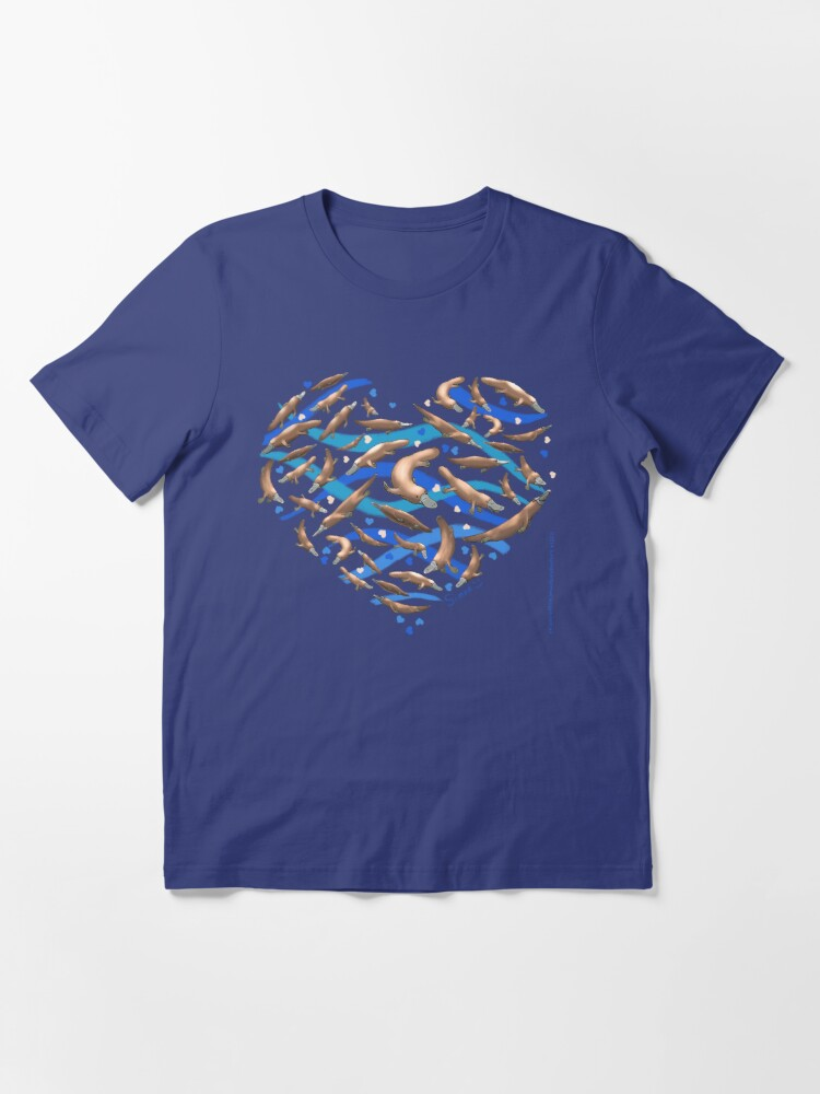 Alternate view of Platypus Heart Essential T-Shirt