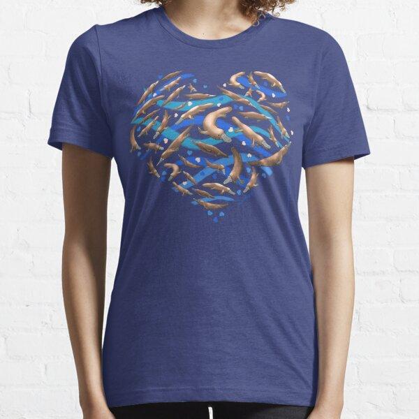 Platypus Heart Essential T-Shirt