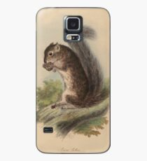 The zoology of Captain Beechey's voyage - Sciurus colliei Hülle & Klebefolie für Samsung Galaxy
