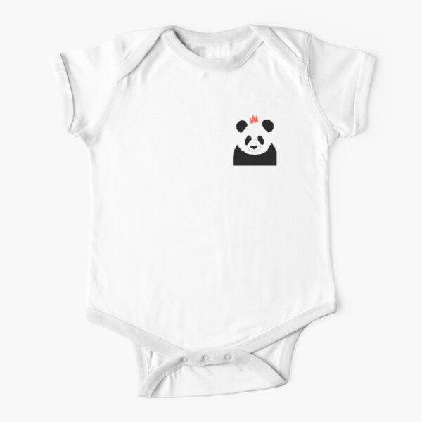 Roi Panda Body manches courtes