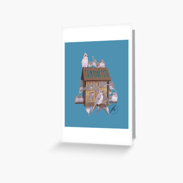 Calm Your Birds for Good Greeting Card