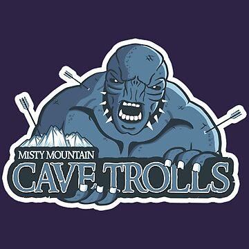 Cave Trolls by Titenono