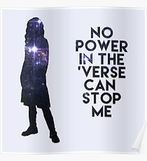 River Tam - No Power in the 'Verse Poster