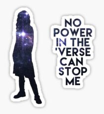 River Tam - No Power in the 'Verse Sticker