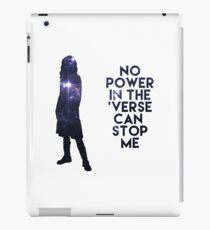 River Tam - No Power in the 'Verse iPad Case/Skin