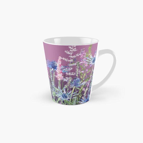 Flower Meadow - Sea Holly, Veronica Flowers & Grasses Tall Mug