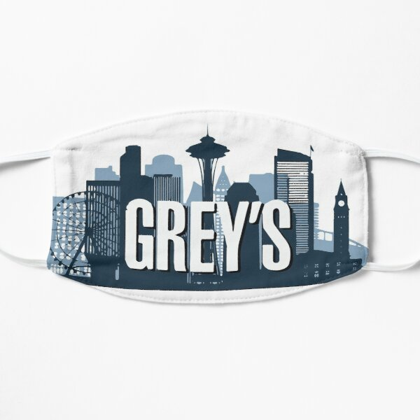 Seattle - Grey's Flat Mask