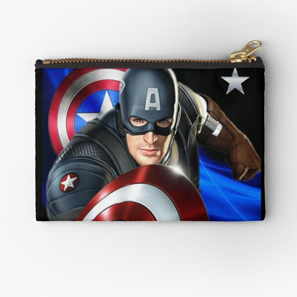 Captain America Zipper Pouch