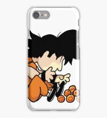 Son Goku x Schroeder (Peanuts) iPhone Case/Skin