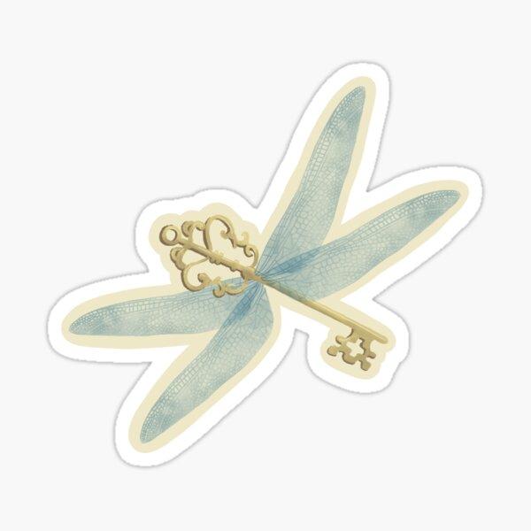 Magical Winged Keys Sticker