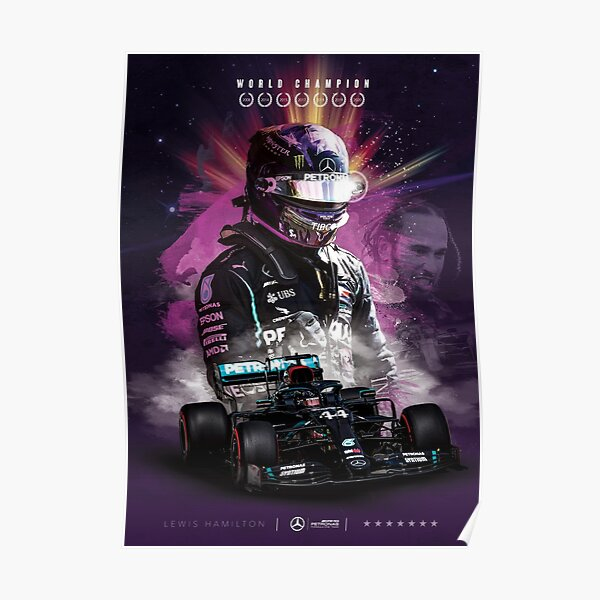 Lewis Hamilton Póster