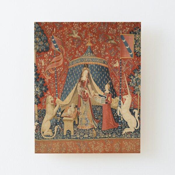 The Lady And The Unicorn Art Print Wood Mounted Print