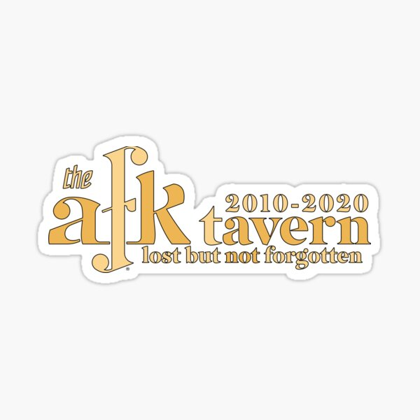 afk tavern lost Sticker