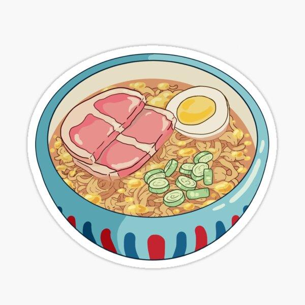 Ponyo Ramen Sticker