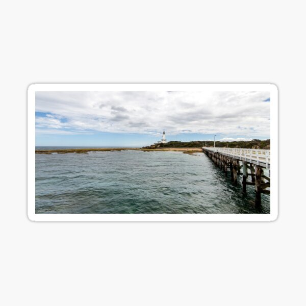Point Lonsdale Panorama Sticker
