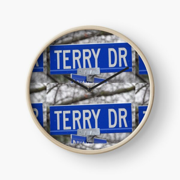 Terry, Terry mask, Terry socks, Terry magnet, Terry sticker  Clock