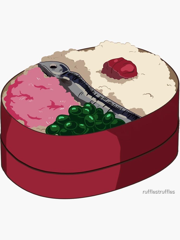 Totoro Bento Box by rufflestruffles