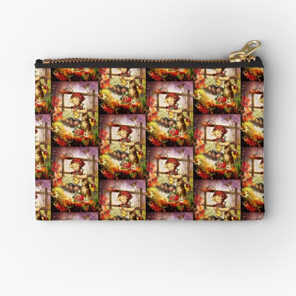 THE VIEW FROM MOTHER'S WINDOW Zipper Pouch