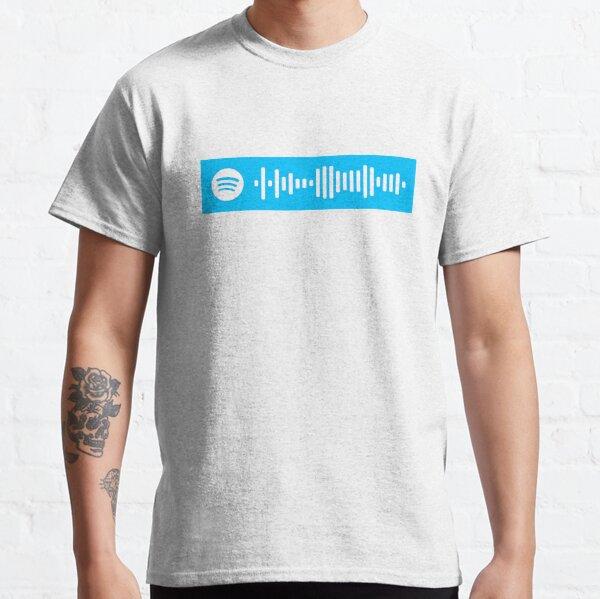 Código de Spotify de Madrid (Myke Towers, Maluma) Camiseta clásica