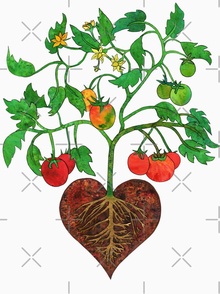 Tomatoes Heal My Heart  by junebugscorner