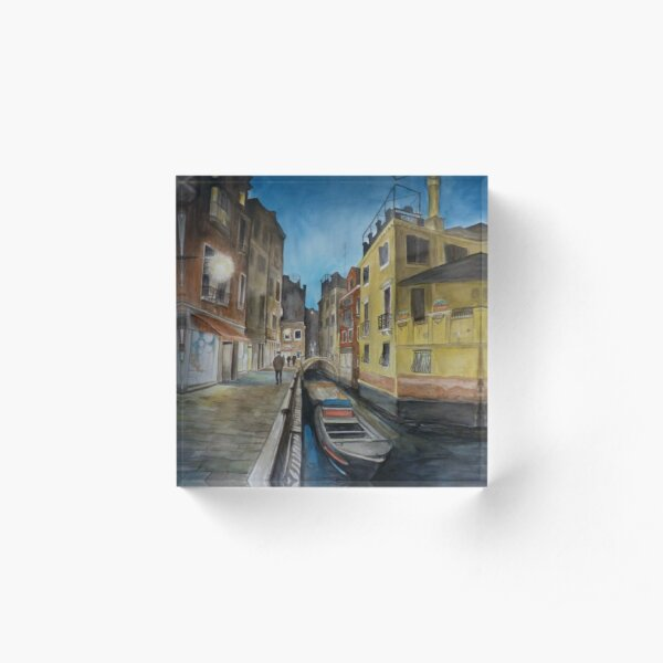 Venice Nights Acrylic Block