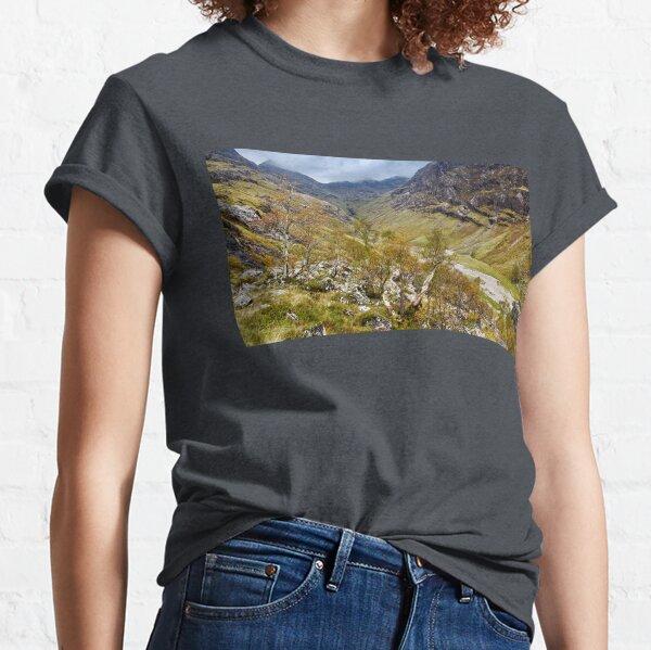 Scottish Autumnal Glen Classic T-Shirt
