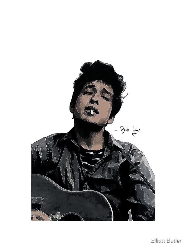 Bob Dylan by ebutler