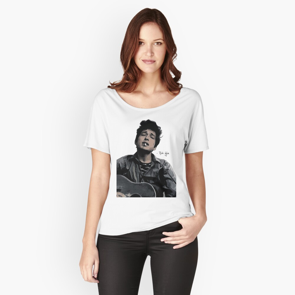 Bob Dylan Women's Relaxed Fit T-Shirt Front