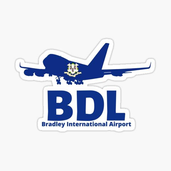 Travel Airport Airline Bradley International Airport BDL Sticker