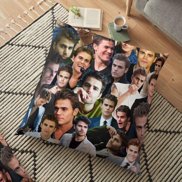 Paul Wesley Photo Collage Floor Pillow