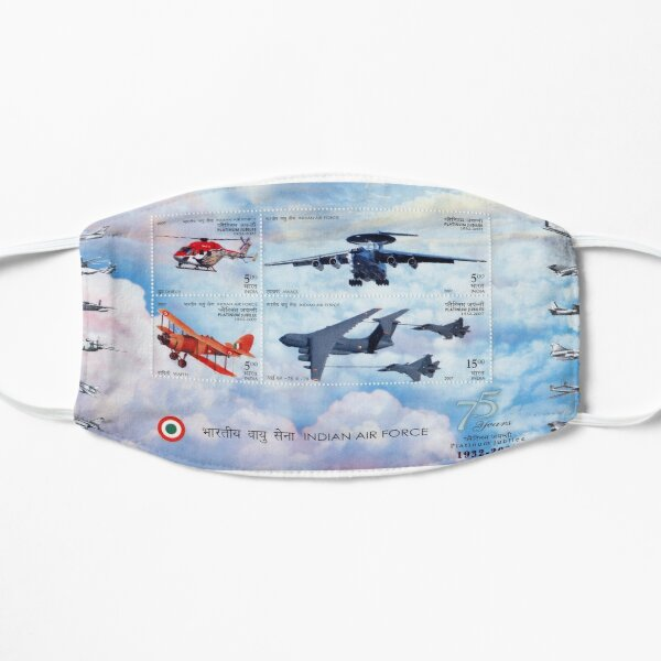 India Air Force - India's 75th anniversary stamp celebration Mask