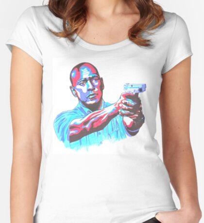 Denzel Washington Equalizer movie Fitted Scoop T-Shirt