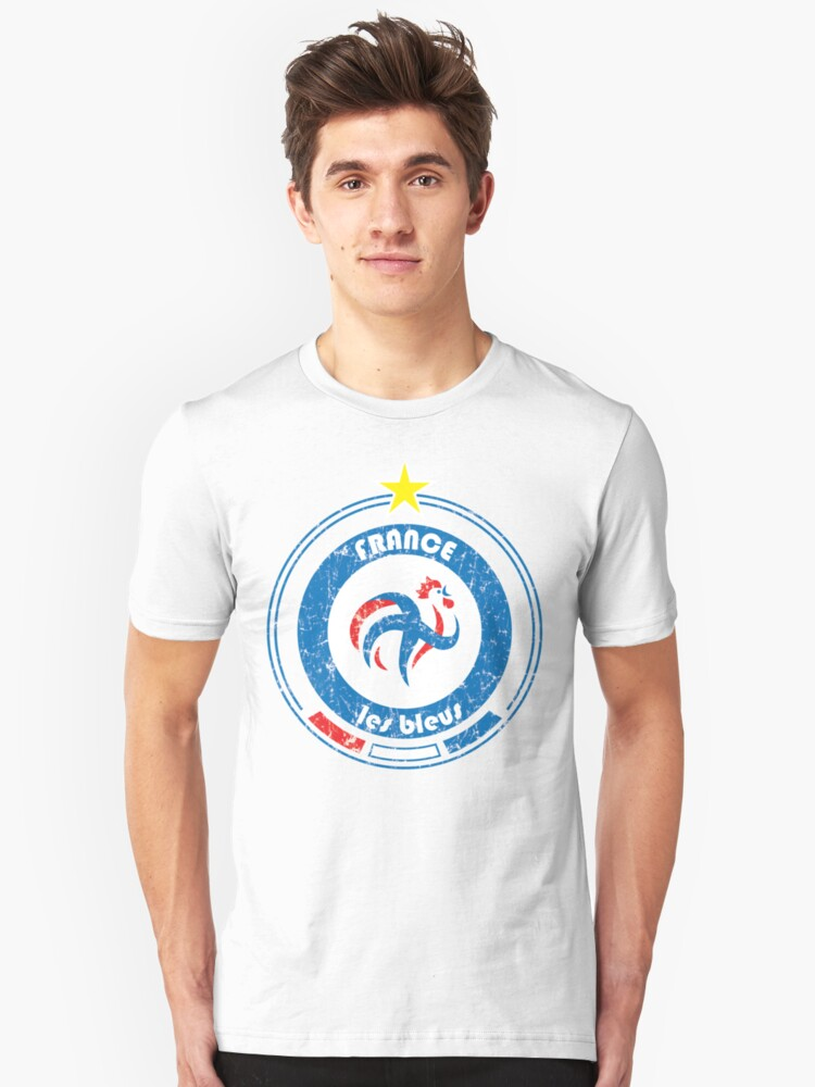 World Cup Football 7/8 - Team France (distressed) by madeofthoughts