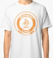 World Cup Football - Team Netherlands (distressed) Classic T-Shirt