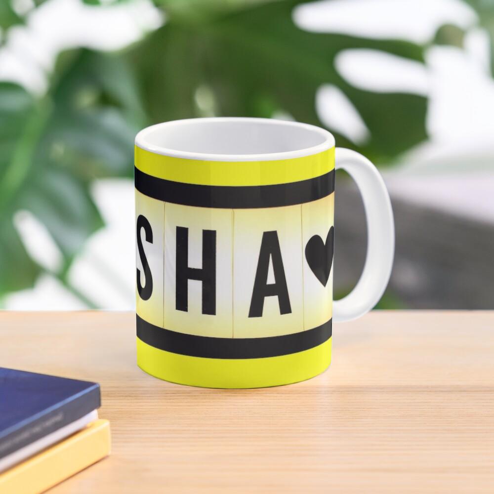 Elisha mask, Elisha magnet, Elisha sticker, Elisha greeting card  Mug