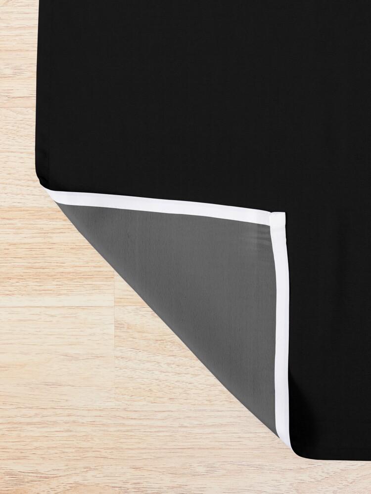 Alternate view of Elisha mask, Elisha magnet, Elisha sticker, Elisha greeting card  Shower Curtain