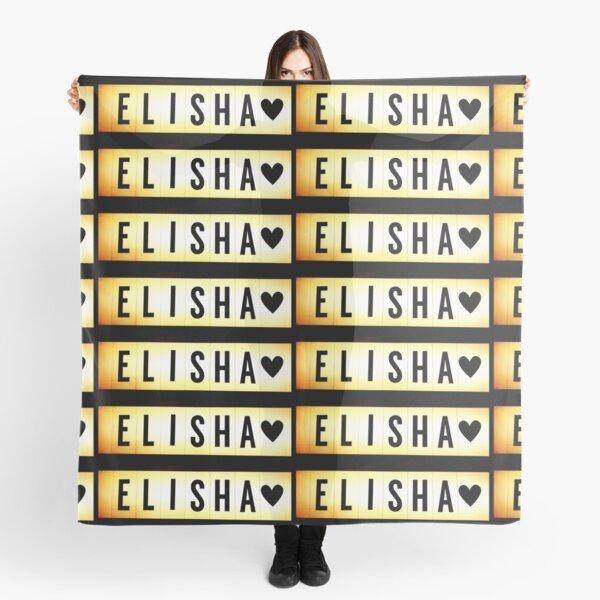 Elisha mask, Elisha magnet, Elisha sticker, Elisha greeting card  Scarf