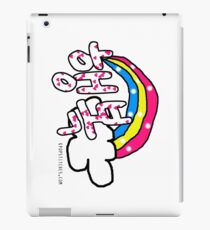 Korean Happy 행복 Haengbok Korean Rainbow iPad Case/Skin