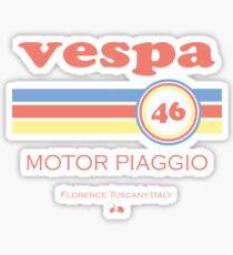 Vespa 46 Sticker