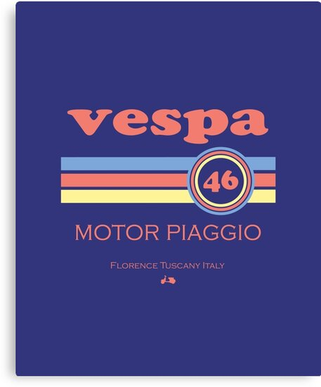 Vespa 46 by madeofthoughts