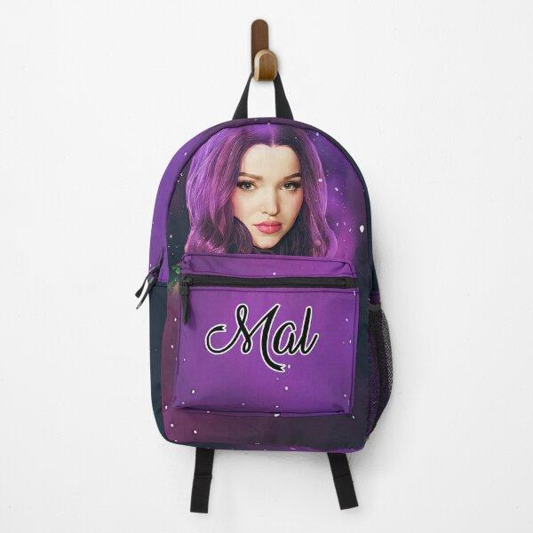 Mal Purple Pink Princess - Descendants 3  Backpack