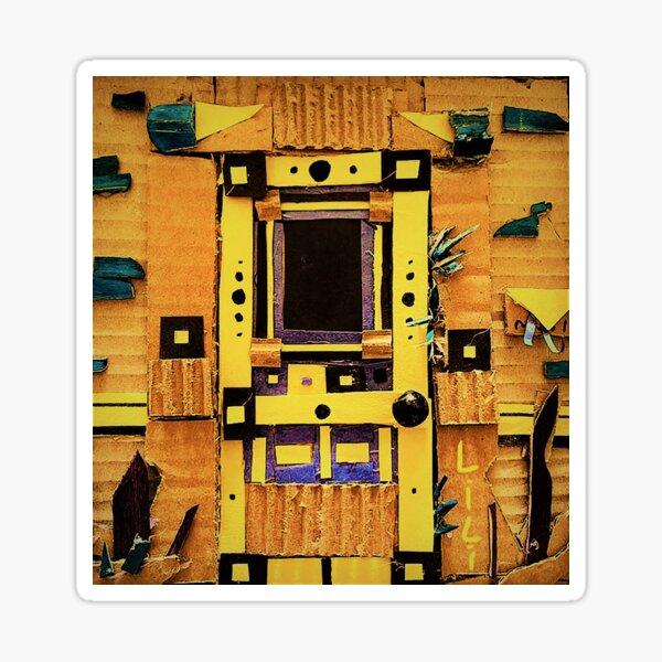 Doorway to the MothBog Dimension  Sticker